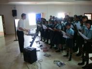 Music class with Emanuel teacher