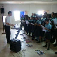 Music class with Emanuel teacher