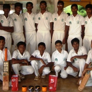 Winning Cricket team