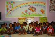 Kindergarten activities room