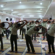 XI Standard Yoga in the Conference Centre