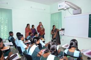 Sri Jayendra Golden Jubilee School Nigel Wray Visit 4