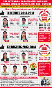 Sri Jayendra School - 10th Result (1)